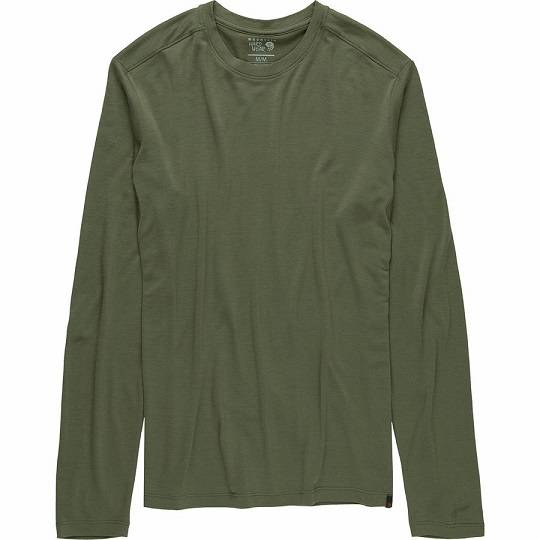 Mountain Hardwear Diamond Peak Long-Sleeve T-Shirt 山浩 男款长袖美利奴羊毛T恤