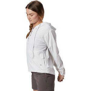 Mountain Hardwear 山浩Mallorca Stretch Long-Sleeve Shirt 女款连帽衫