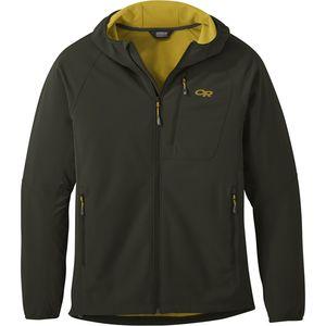 Outdoor Research Ferrosi Grid Hooded Jacket男款抓绒软壳外套