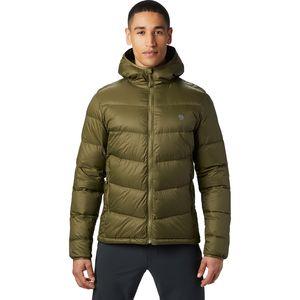 Mountain Hardwear山浩 Mt. Eyak Down Hooded Jacket男款保暖羽绒服
