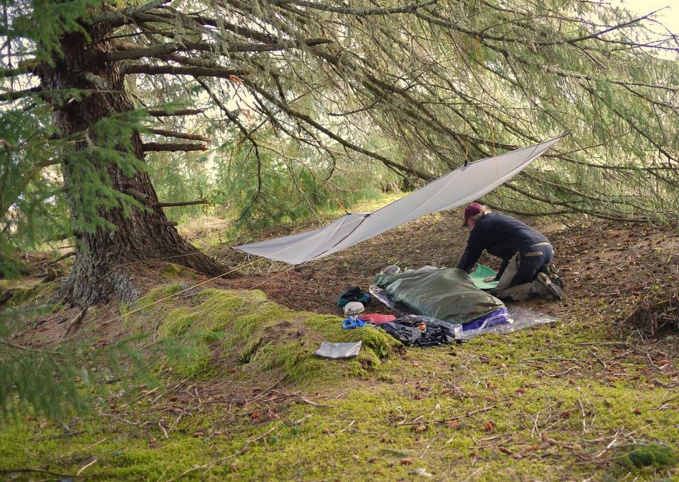 一个人独自野外露营,出发前不要忘记这些事